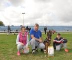 Campionatul national 2016 locul 3 Flora vom Haus Emy